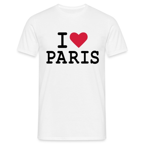 I Love Paris 1 - T-shirt Homme