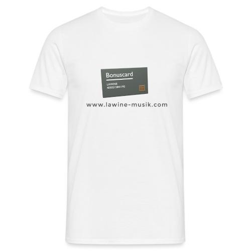 Platinkundenkarte - Männer T-Shirt