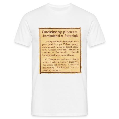 poronin - Koszulka męska