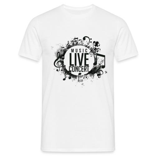 musica - Camiseta hombre