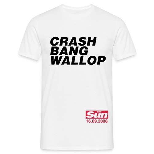 Crash Bang Wallop 1 - Men's T-Shirt