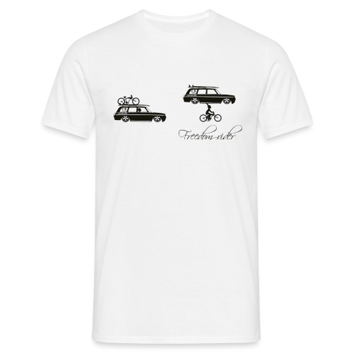 freedom rider - T-shirt Homme