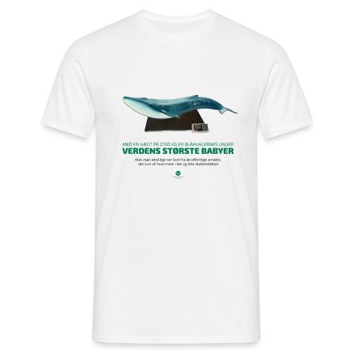 Blåhvalens unger - Herre-T-shirt