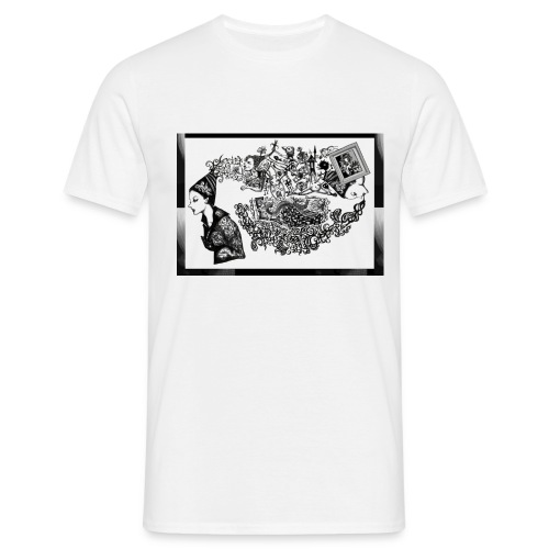 Destroyer - Clear - Men's T-Shirt