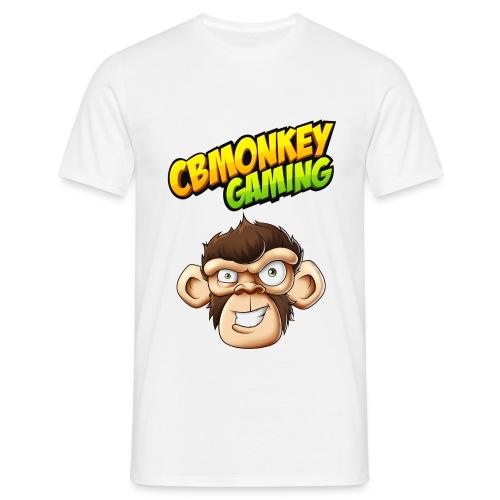 CBMonkey Logo fw png - Men's T-Shirt