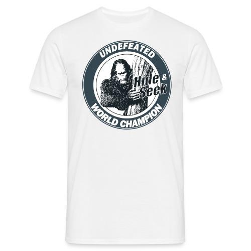 Bigfoot - Men's T-Shirt