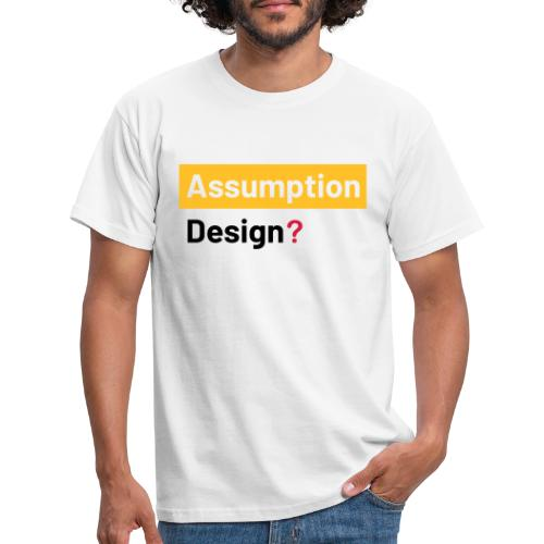 assumption design 2 - T-shirt herr