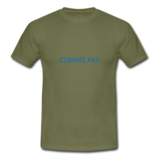 climate pax blue - Männer T-Shirt