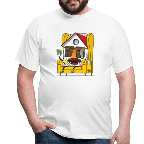 STAILA EDF CREW X iorestoacasaArtistiUniti - Maglietta da uomo