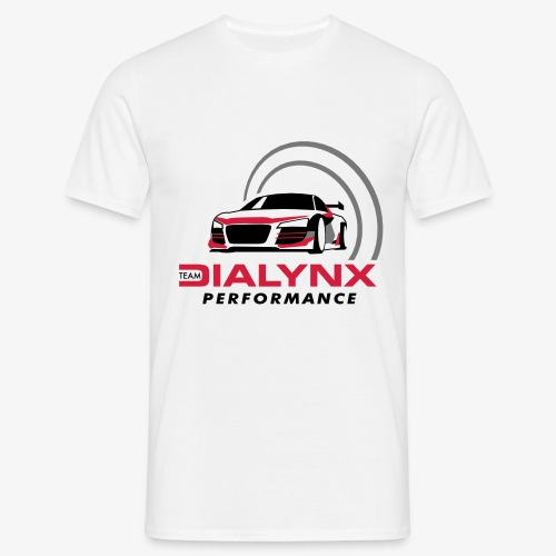 Dialynx Performance Race Team White Range - Men's T-Shirt