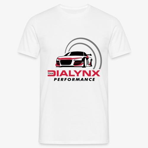 Dialynx Performance Race Team White Range - Men's T-Shirt