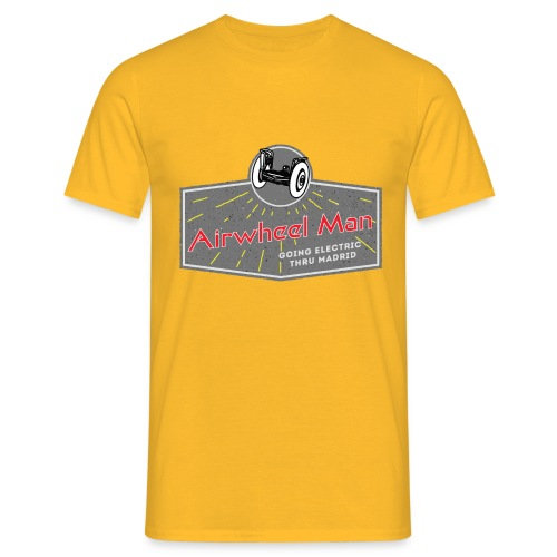 AIRWHEEL MAN - Going Electric Thru Madrid - Camiseta hombre