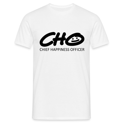 Chief Happiness Officer - Männer T-Shirt