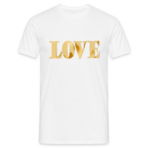Cheesy love - Men's T-Shirt