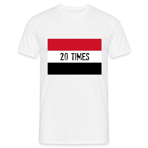 20 times - Men's T-Shirt