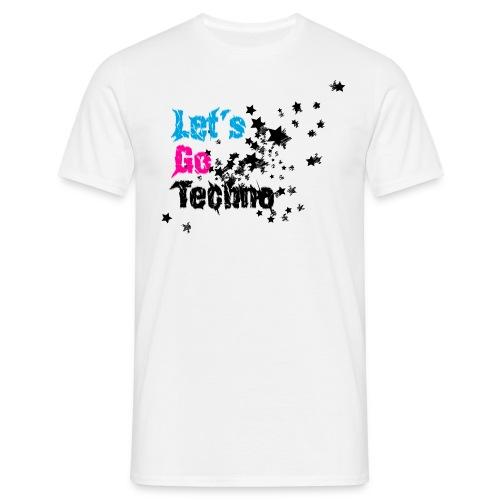 lgt shirtddd 4000x3400px aufgrau - Männer T-Shirt