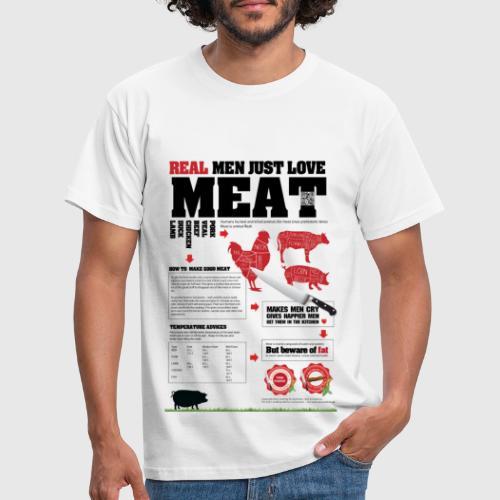 steak - Herre-T-shirt