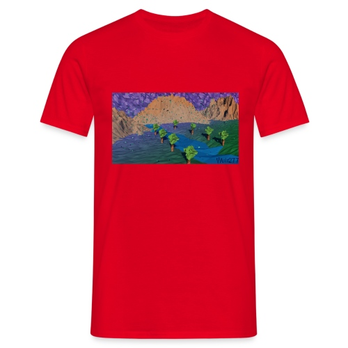 Silent river - Men's T-Shirt