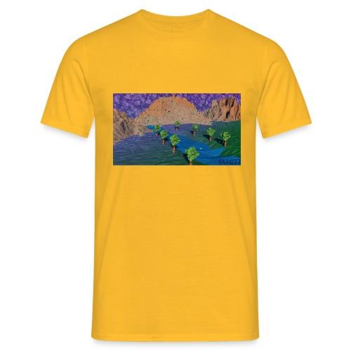 Silent river - Men's T-Shirt
