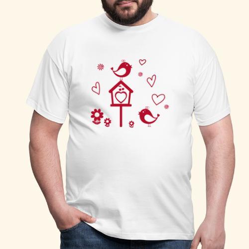 Casita para pájaros - Camiseta hombre