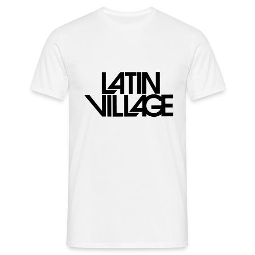 Logo Latin Village 30 - Mannen T-shirt