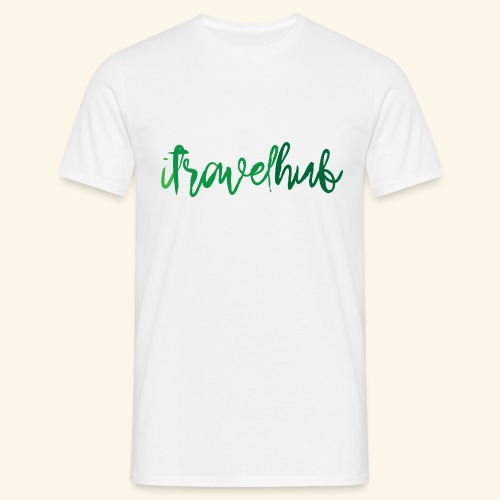 itravelhub logo - Men's T-Shirt