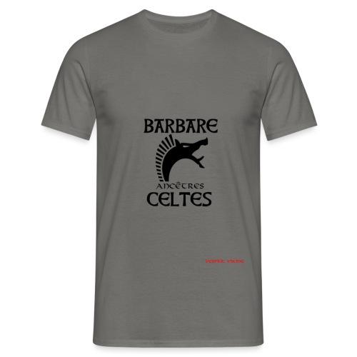 BarAncCeltesCARNYXblack - T-shirt Homme