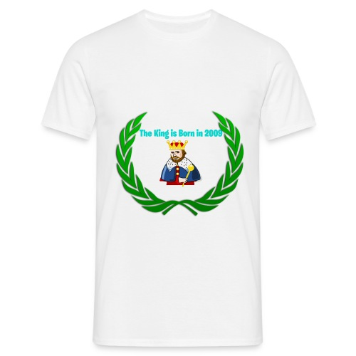 The king is born in 2009 - Männer T-Shirt