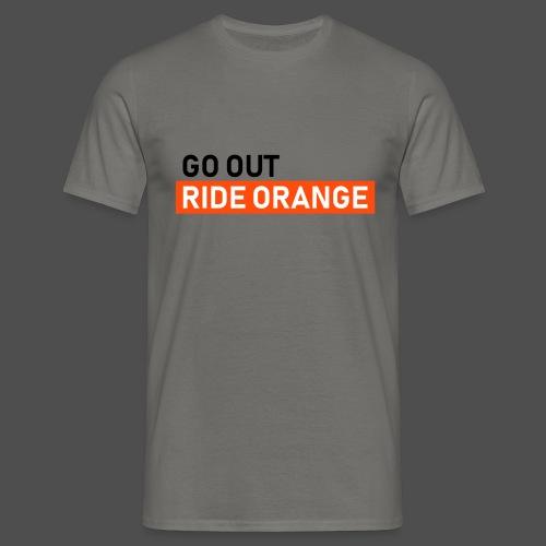 jeździć pomarańczowo - Koszulka męska