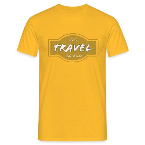 Let's Travel the World - Maglietta da uomo