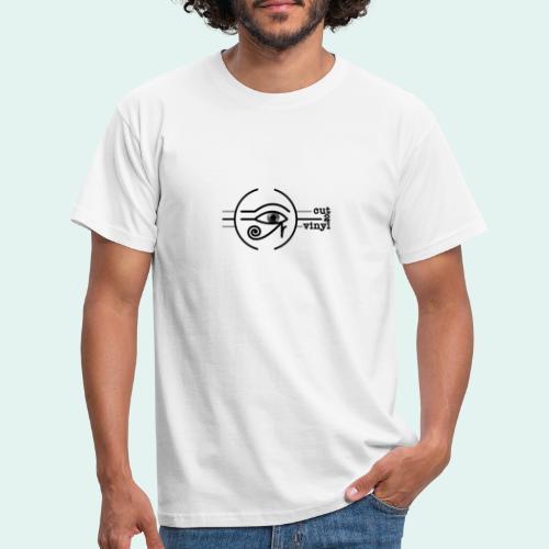 Cut2Vinyl with text - Men's T-Shirt