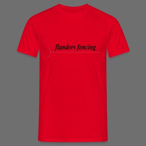 Flanders Fencing - Mannen T-shirt