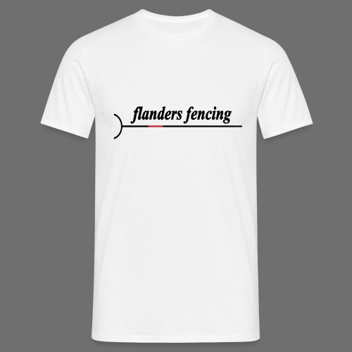 Flanders Fencing - Mannen T-shirt