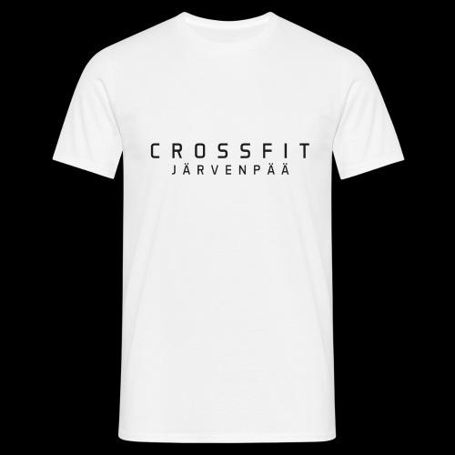 CrossFit Järvenpää mustateksti - Miesten t-paita