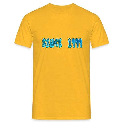 Since 1999 - Miesten t-paita