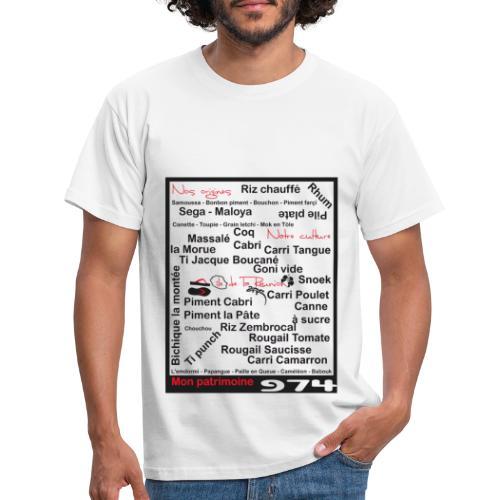 Logo 974 Ker Kreol - 2013 - T-shirt Homme