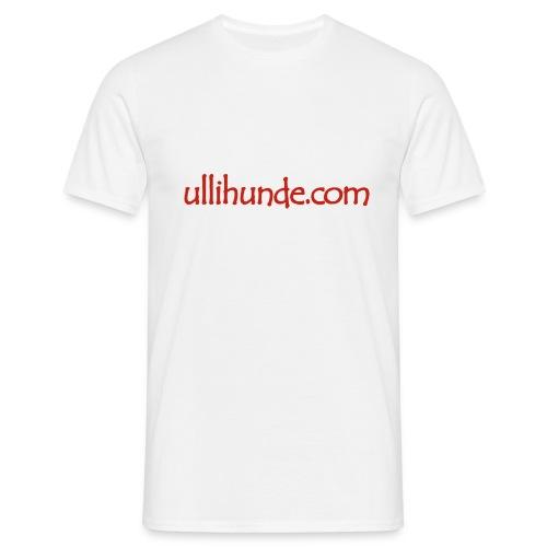 Ullihunde Schriftzug - Männer T-Shirt