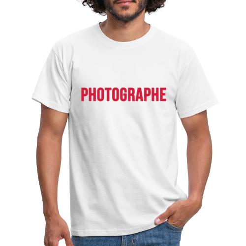 photographe lougas - T-shirt Homme
