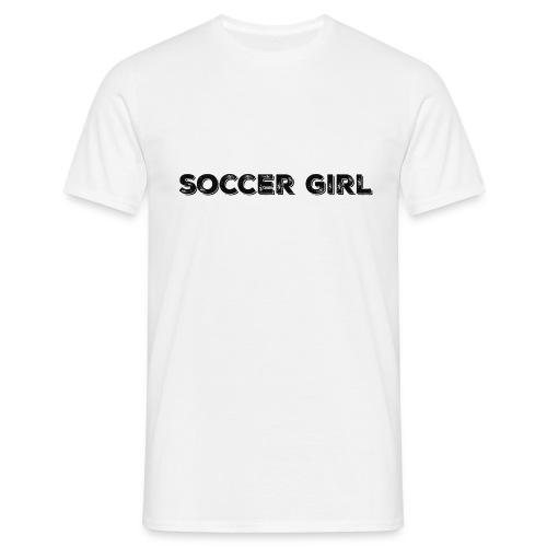SOCCER GIRL LOGO SHIRT - Men's T-Shirt