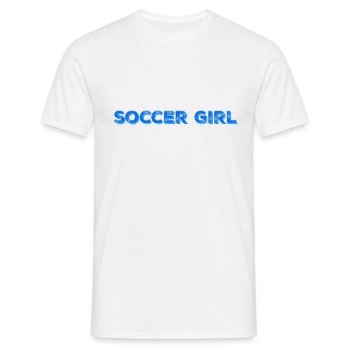 Soccer Girl Hoodie - Men's T-Shirt