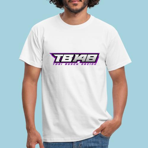 Tob Logo Lila - Männer T-Shirt