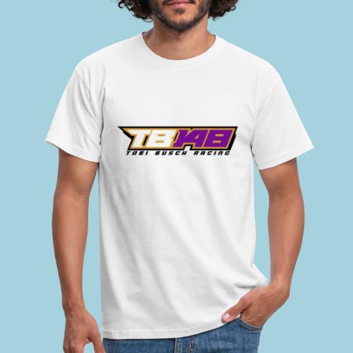 Tobi Logo schwarz - Männer T-Shirt