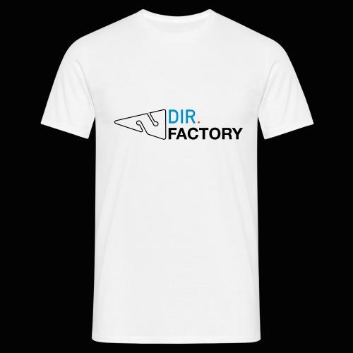 Logo mit Arrow DESIGN - Männer T-Shirt