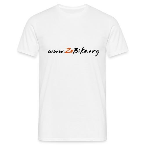 wwwzebikeorg s - T-shirt Homme