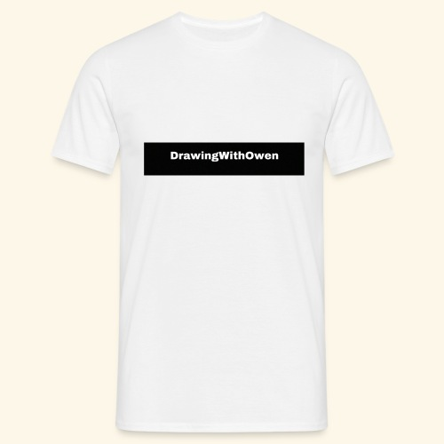 drawing with owen products - Mannen T-shirt