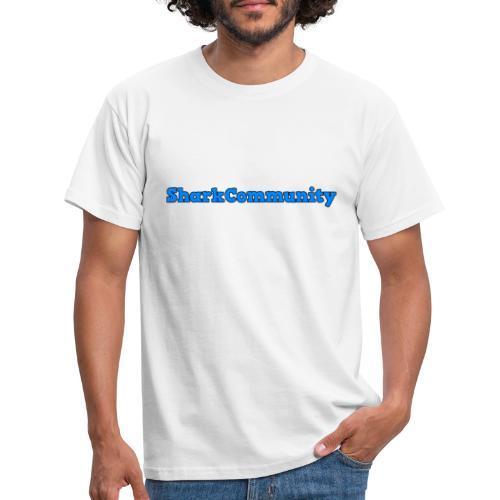SharkCommunity® Tekst - Herre-T-shirt