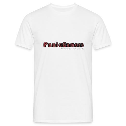 Cover PanicGamers - Maglietta da uomo
