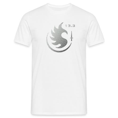Patch IR 13 3 TRAME BLACK INVERT - T-shirt Homme