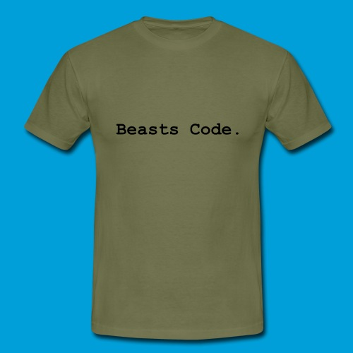Beasts Code. - Men's T-Shirt