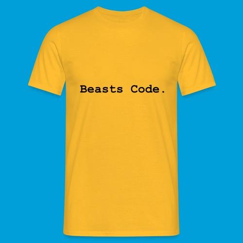 Beasts Code. - Men's T-Shirt